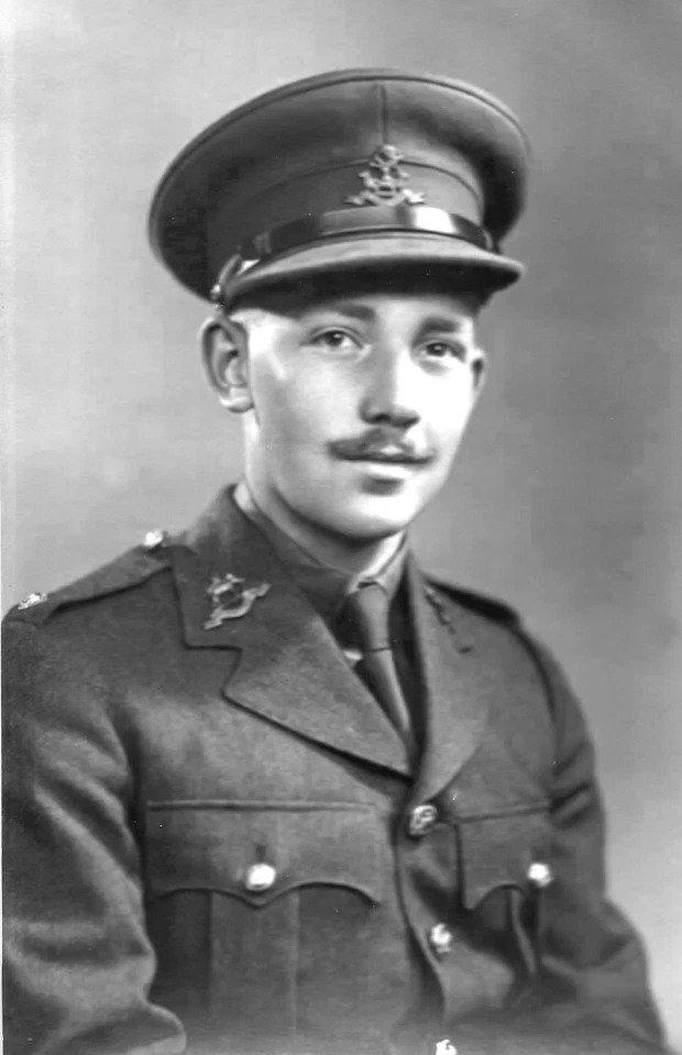 Captain Tom Moore in uniform