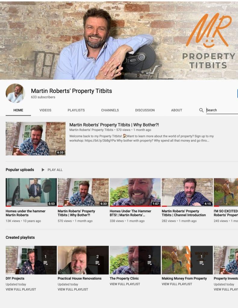 Martin Roberts Property Titbits
