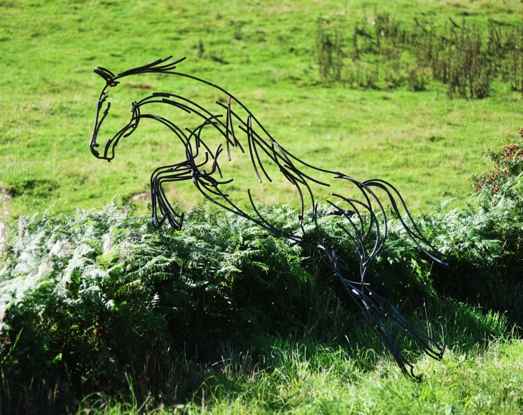 Andrew Kay: Leaping Horse