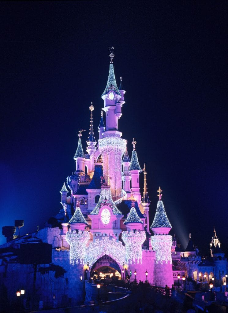 Sleeping-Beauty-Castle---Night