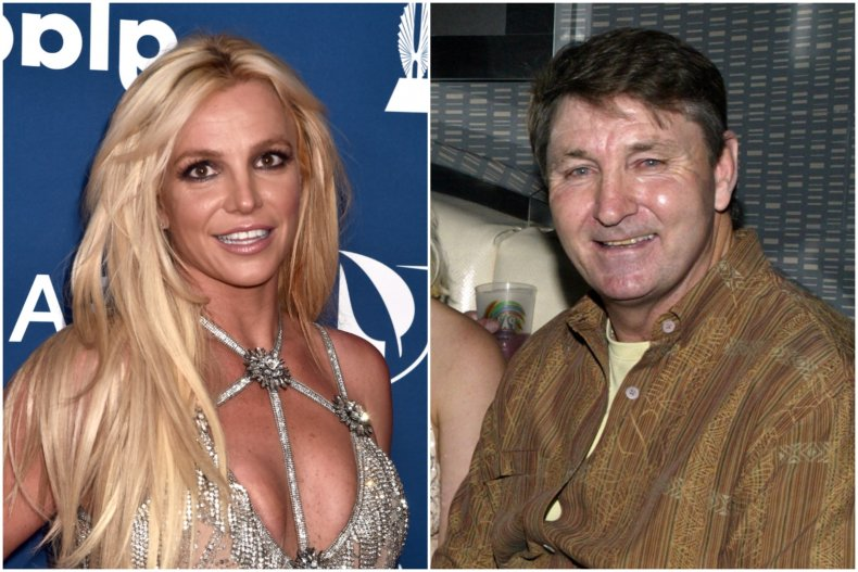 Britney and dad
